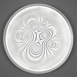 Nebula Wall / Ceiling Light - Polished White /