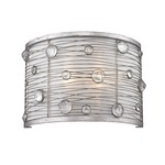 Joia Wall Sconce - Peruvian Silver /