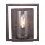 Marco Wall Sconce - Gunmetal Bronze /