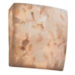 Alabaster Rocks Square ADA Wall Sconce -  / Alabaster Rocks