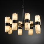 Dakota Broken Rim Cylinder Chandelier