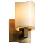 Modular Cylinder Melted Rim Candlearia Wall Sconce