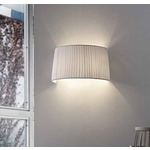 Tessuti Cone Wall Sconce - Ivory /