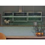Piani Mono Linear Downlight Suspension - Aluminum /
