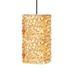 QP Haven LED Pendant - Chrome / Champagne Diamond