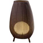 Amphora Outdoor Floor Lamp - Brown Graphite / Brown /