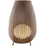 Amphora Outdoor Floor Lamp - Brown Graphite/ Beige /