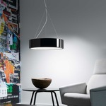 Elea Pendant - Black / Clear