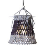 Knottee Pendant - Gray / Dark Blue /