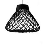 Twine Tall Pendant - Black /