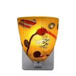 Elan Quadro Wall Sconce - Satin Nickel / Kandinsky Gold