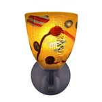Elan Rondo Wall Sconce - Dark Bronze / Kandinsky Gold