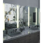 Reflections Vanity Fixture - Natural / Glass