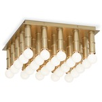 Meurice Ceiling Light - Antique Brass /