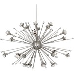 Sputnik Chandelier - Polished Nickel / Crystal