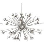 Sputnik Chandelier - Polished Nickel / Crystal