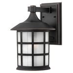 Freeport Outdoor Wall Light - Olde Penny / Etched Seedy /