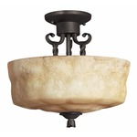 Casa Semi-Flush Mount