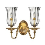 Cambridge Clear Glass Wall Sconce
