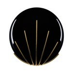 Golden Pearls Wall Sconce