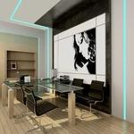 TruLine .5A 5W 24VDC RGB Plaster-In LED System - White