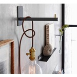 Rialto Wall Mount Hook w/Cloth Cord