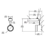 Lytespan Alcyon MR16 Glass Cylinder Track Head -  /