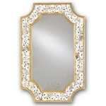 Margate Wall Mirror - Gold Leaf / Oyster Shells