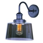 Mini Hi-Bay 25089 Wall Light - Bronze / Smoke