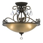 Ashton Ceiling Semi Flush Mount