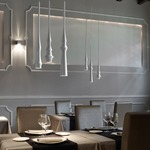 Slend Multi-Light Pendant Linear Canopy