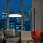 Disq Arc LED Floor Lamp by Hubbardton Forge