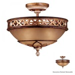 Aston Court 1757 Ceiling Semi-Flush Mount
