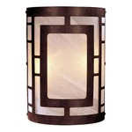 346 Wall Sconce - Natural / Etched Marble