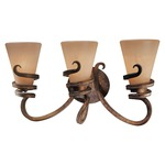 Tofino Bathroom Vanity Light - Tofino Bronze / Marbre Grabar