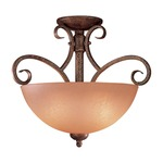 Caspian Ceiling Semi-Flush Mount