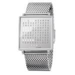 Qlocktwo Fine Steel Wrist Watch