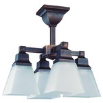 Aurora Ceiling Semi Flush Mount