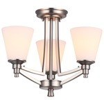 Georgetown Ceiling Semi Flush Mount/Chandelier