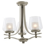 Isabella Semi Flush Mount/Chandelier