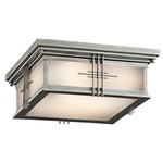 Portman Outdoor Square Flush Mount