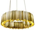 Facet Pendant - Polished Brass /
