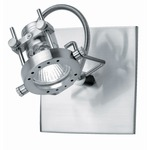 Technic Wall / Ceiling Mount - Polished Steel /