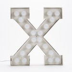 Vegaz X LED Alphabet Lamp