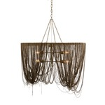 Layla Pendant - Antique Brass/ Nickel