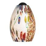 Mini-Monty Pendant - Satin Nickel / Opal