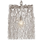 Hollywood Block Hanging Lamp - Nickel /
