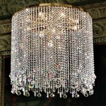 Deco Crystal Chandelier