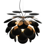 Discoco Pendant - Chrome / Black / Gold