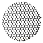 T5559 1.75 Inch Hexcell Louver - Black /